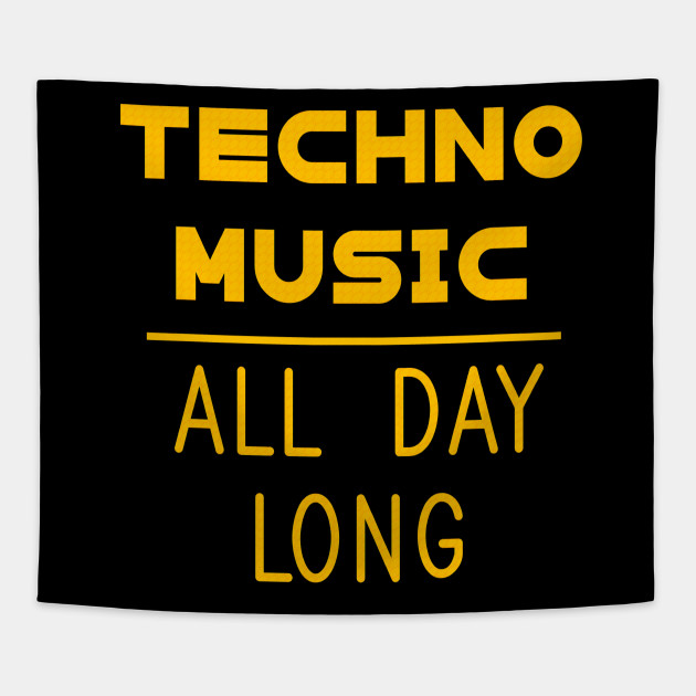 Techno Music All Day Long Electronic Dance electro