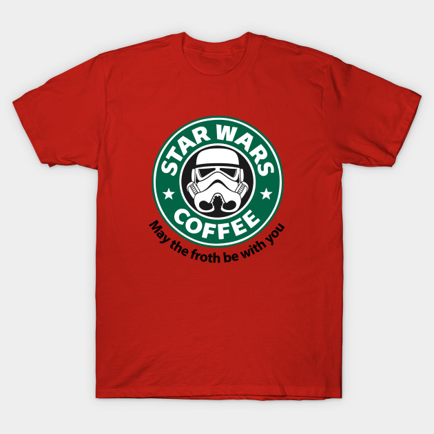 Star Wars Coffee - Coffee - T-Shirt | TeePublic