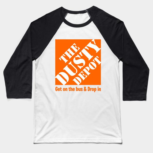 e0df096d443 The Dusty Depot - Fortnite - Baseball T-Shirt | TeePublic