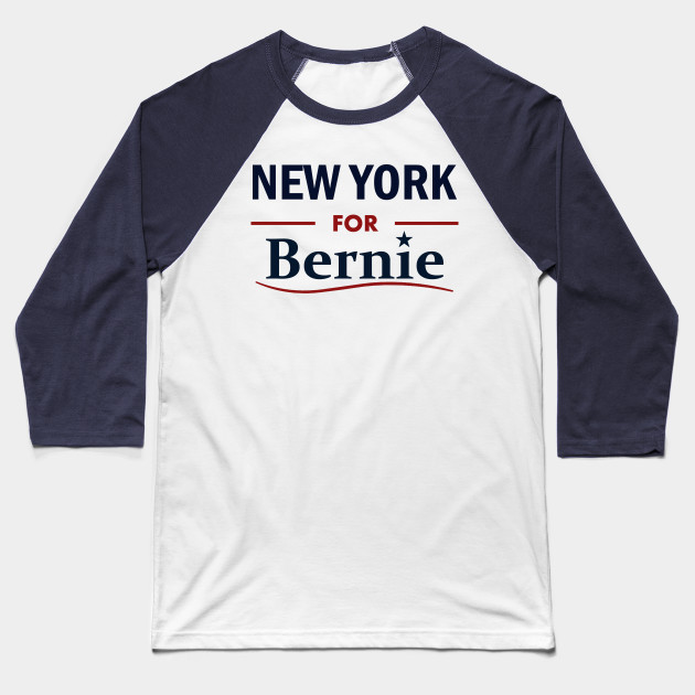 New York for Bernie Baseball T-Shirt