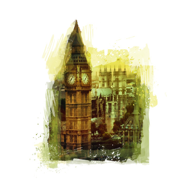 London Big Ben #london art