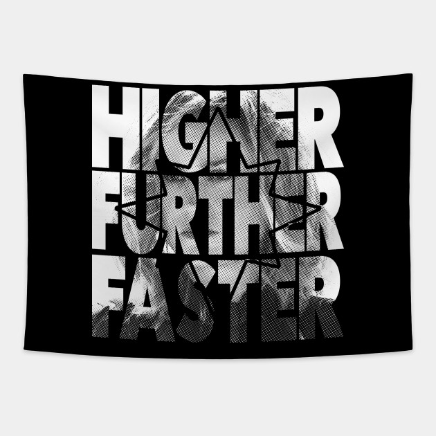 Higher Further Faster halftones