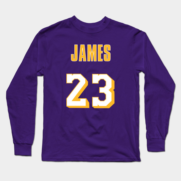 best loved 27ccb 1d943 LeBron James Throwback Lakers Jersey 2