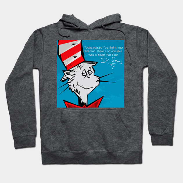 Dr Suess Cat in A Hat Hoodie