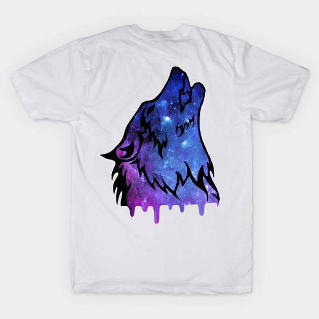 31006f54 Galaxy Wolf - Wolf - T-Shirt | TeePublic