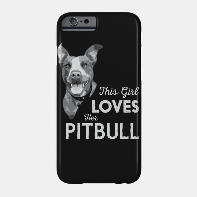 This Girl Loves Her Pitbull
