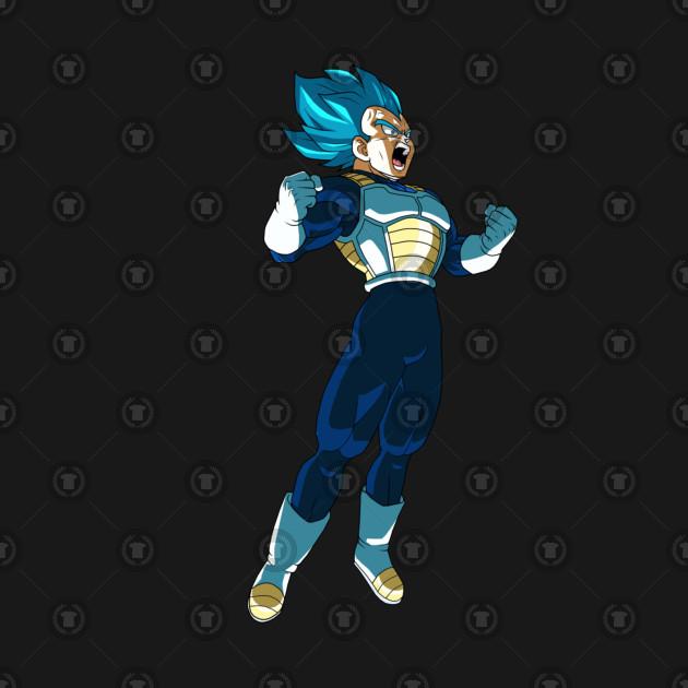 Vegeta Ascended Super Sayian Blue