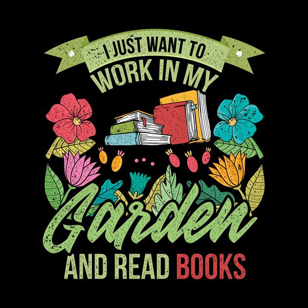 Read Books Retro Gardener