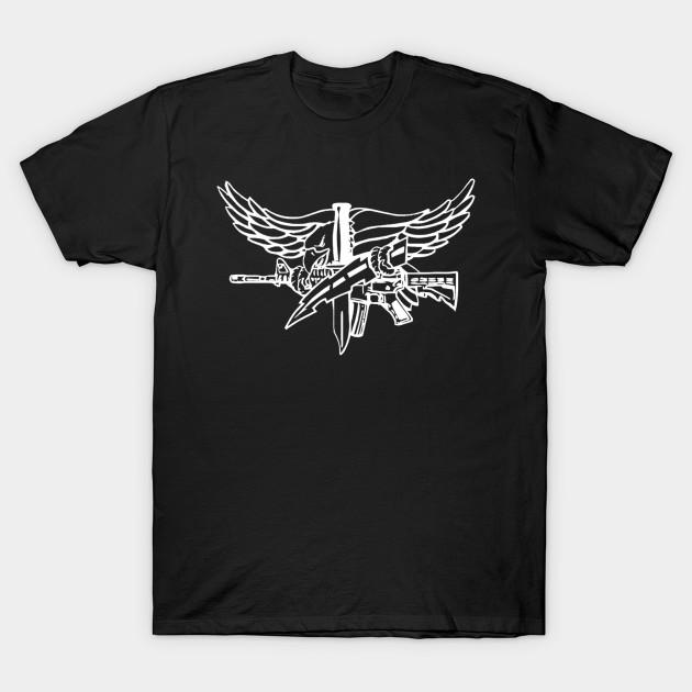 SWAT Eagle Light - Police - T-Shirt   TeePublic
