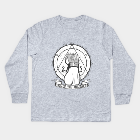 ff6e36a8 Dog of the Military: Strong Arm Kids Long Sleeve T-Shirt. by PrismicDesigns