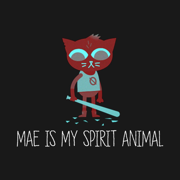 Night In The Woods - Mae Is My Spirit Animal - Clean