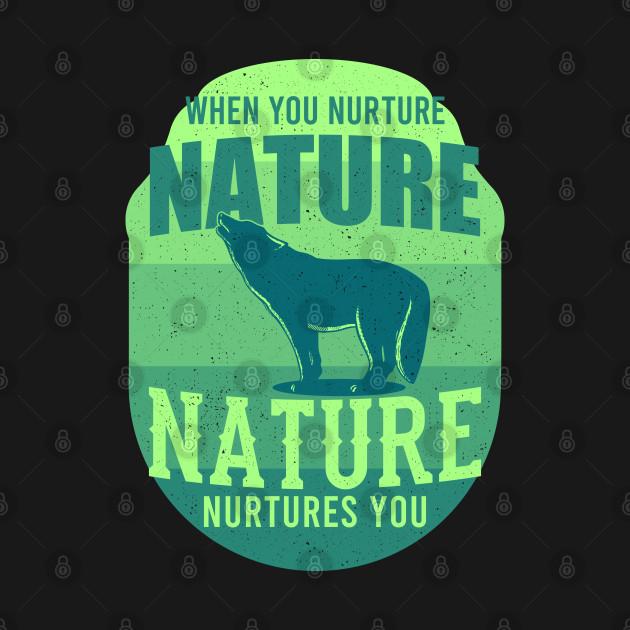 Nature Nurtures Wildlife Gift For Animal Lovers