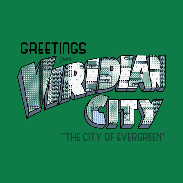 Greetings from Viridian City