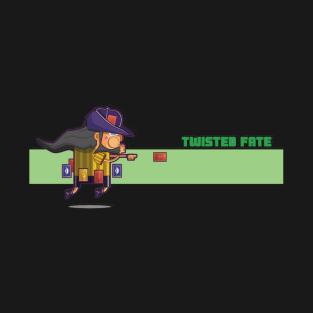 4198fd67 Twisted Fate Lol T-Shirt. by Alienationshop