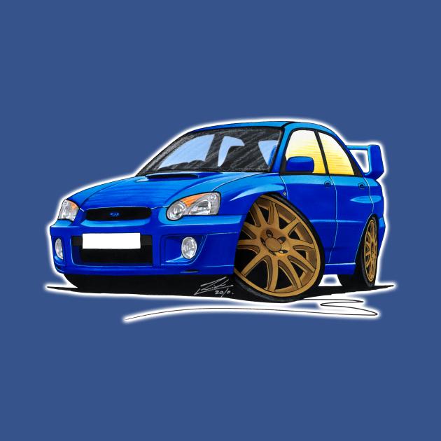 Subaru Impreza (03-06) Blue