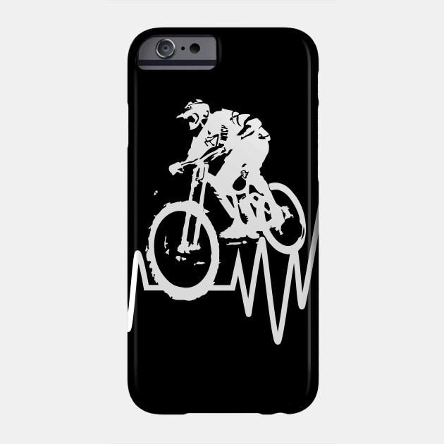 Bicycle Downhill Tshirt