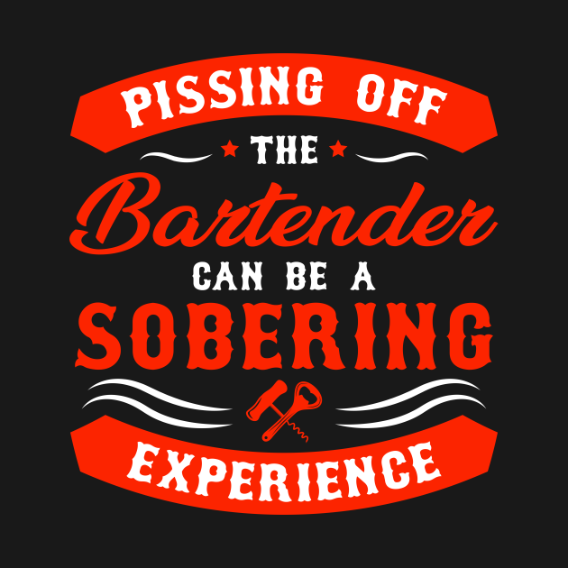 Pissing Off Bartender Sobering Experience