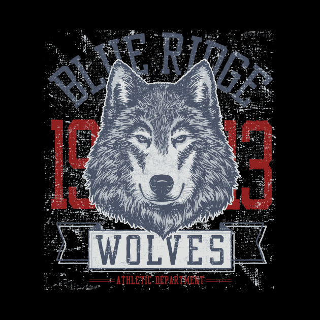 Blue Ridge 1913 Wolves