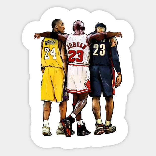 low priced 9567a 96409 Kobe Bryant x Michael Jordan x Lebron James