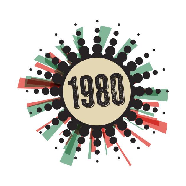 1980s ☻ RETRO rules ☻ retro color pallete / retro style sticker ✔