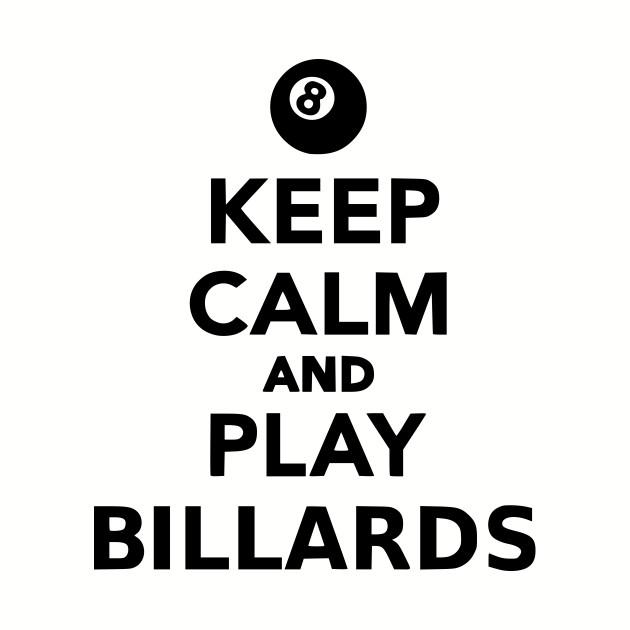 keep calm pool on