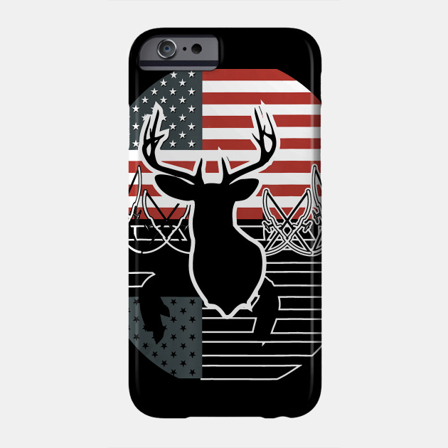Bow Hunting American Flag Hunting