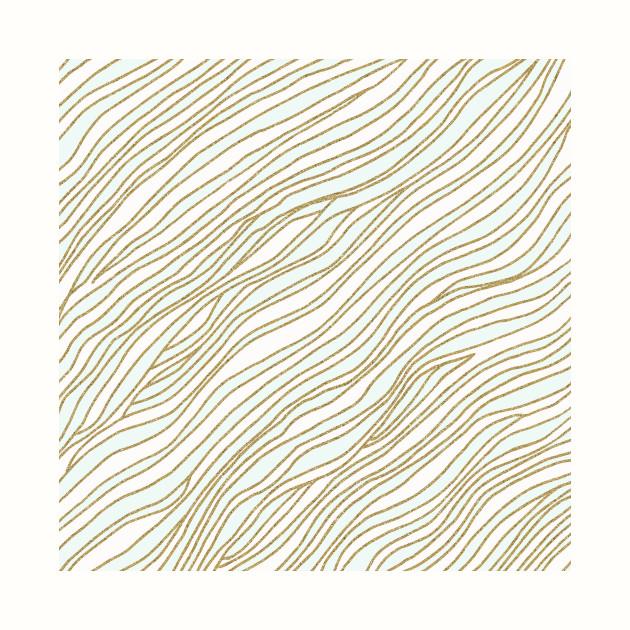 Mint Gold Lines