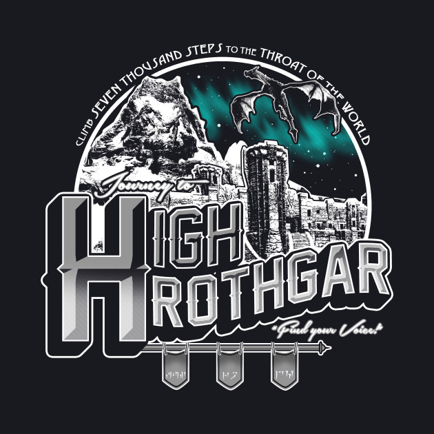 Journey to High Hrothgar