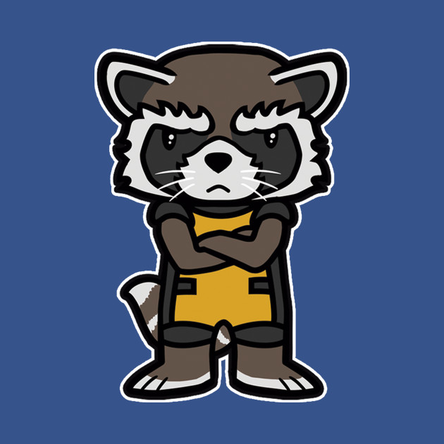 Angry Raccoon T-Shirt