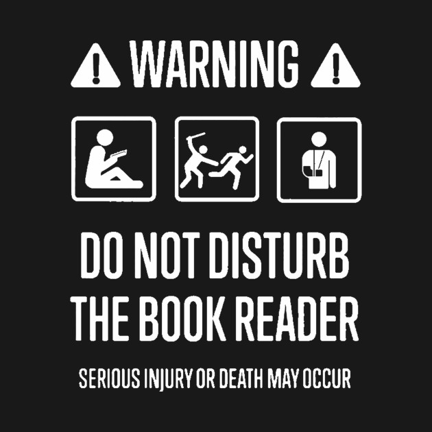 Image result for do not disturb the reader