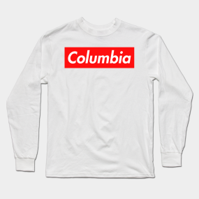 36e2d78a Columbia Long Sleeve T-Shirts | TeePublic