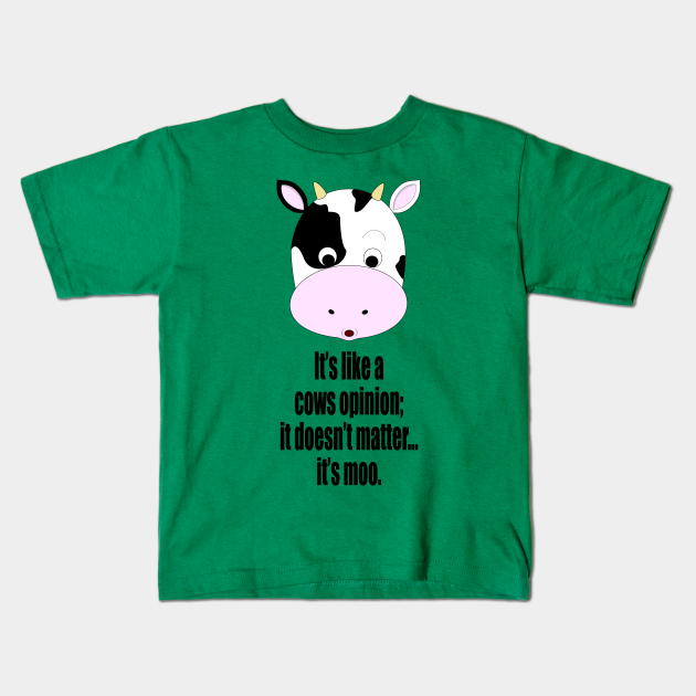 Friends TV Show Shirt It/'s A Moo Point Youth Flowey Tank Top