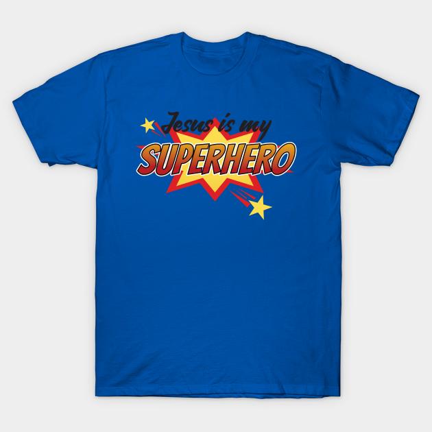 Jesus Is My Hero Toddler Long Sleeve T Shirt