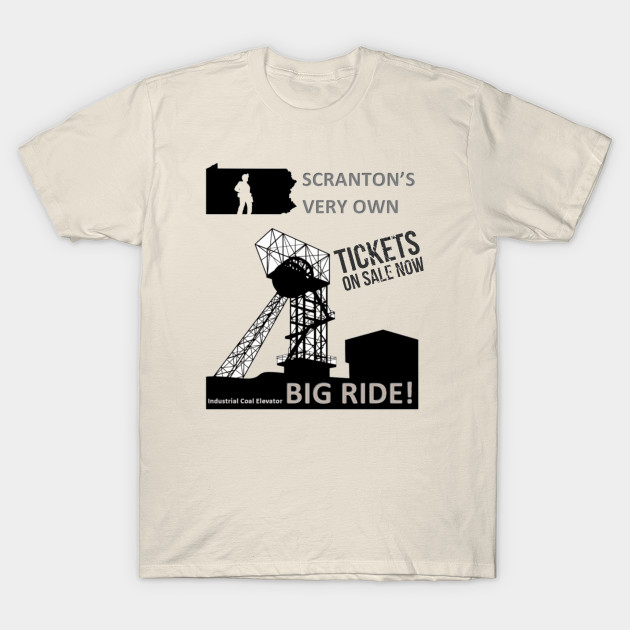 The Office - Industrial Coal Elevator T-Shirt