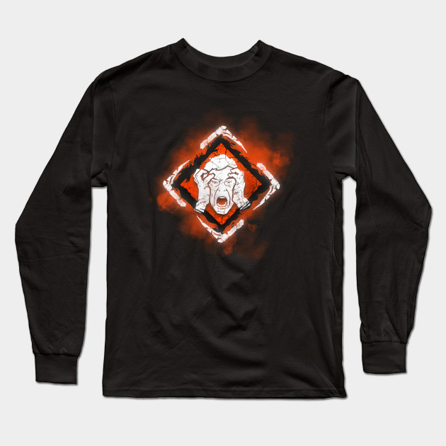 Unnerving Presence Dbd Long Sleeve T Shirt Teepublic Au