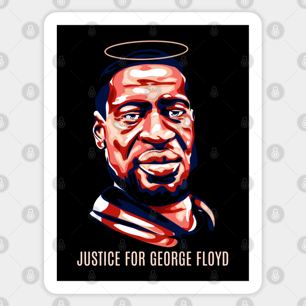 Justice for George Floyd sticker