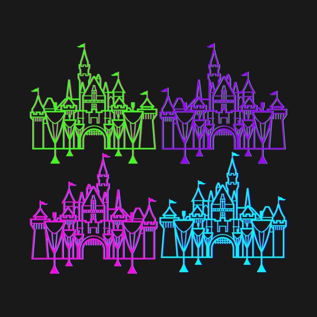 neon castles