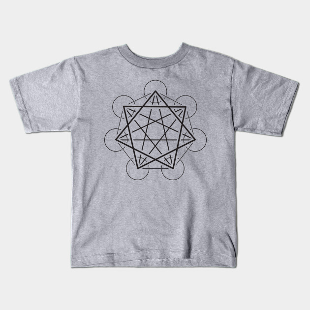 Heptagram (7 sided star) - Awesome Sacred Geometry Design