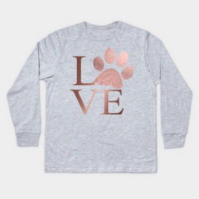 976554ba Love is a Four Letter Word - Rose Gold Kids Long Sleeve T-Shirt. by  purelifephototoss. $24. Main Tag ...