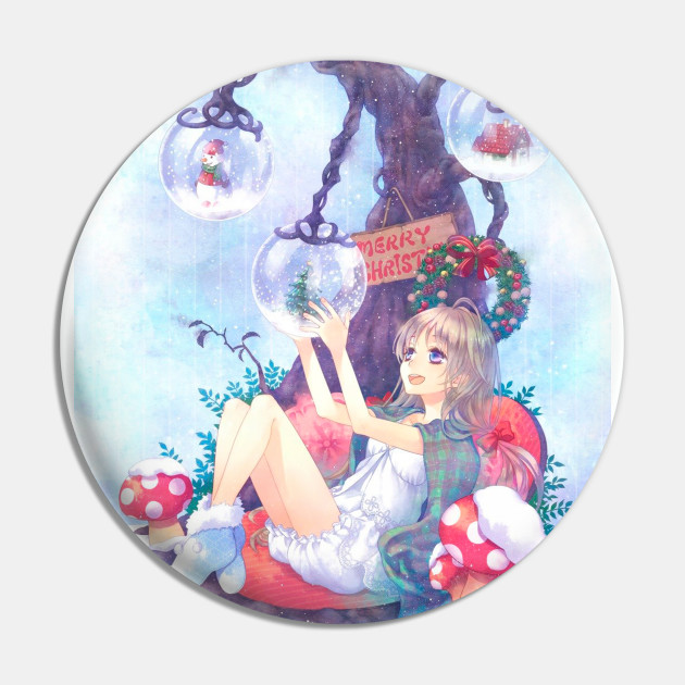 Merry Christmas Anime.Merry Christmas Anime Girl