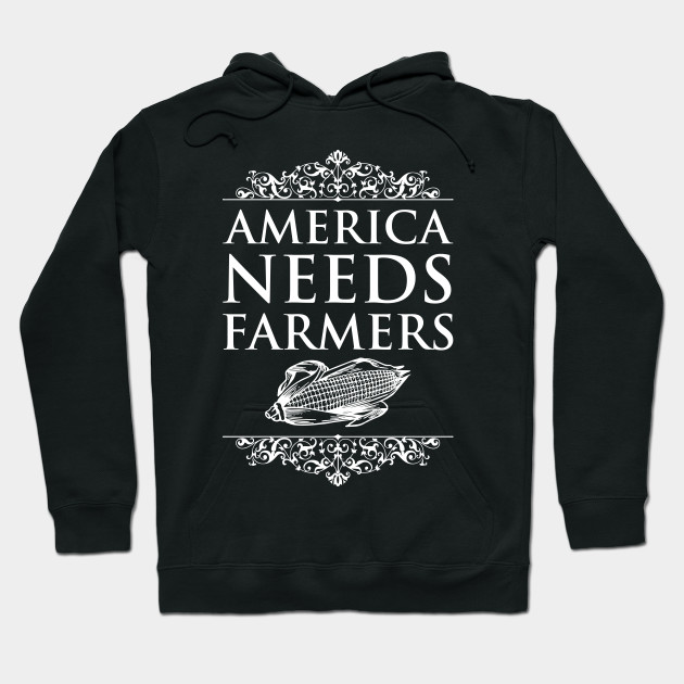 America Needs Farmers Graphic Farming T-shirt