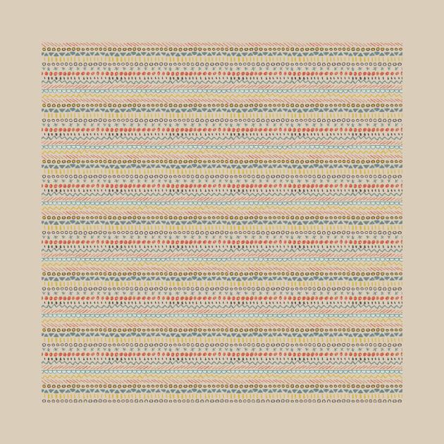 Geometric play - beige