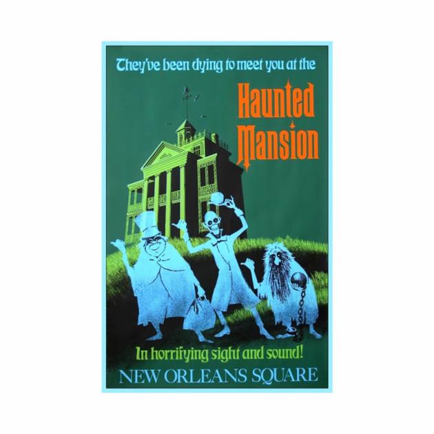 Haunted Mansion Attraction Poster (Disneyland)