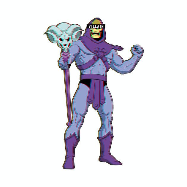 Villain Skeletor - Masters of Universe T-Shirt