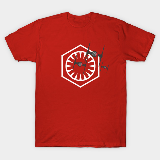 FIRST ORDER RED T.I.E.