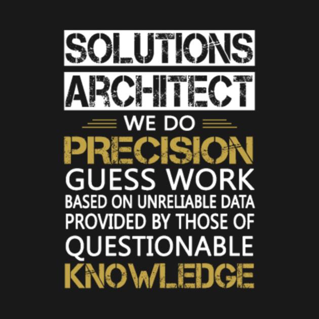 Solution Architect T Shirt