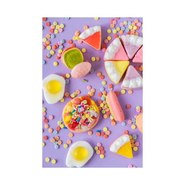 Purple Birthday Candy
