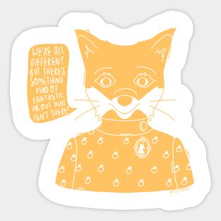Mr Fox Cuscini.Adesivi Fantastic Mr Fox Teepublic It