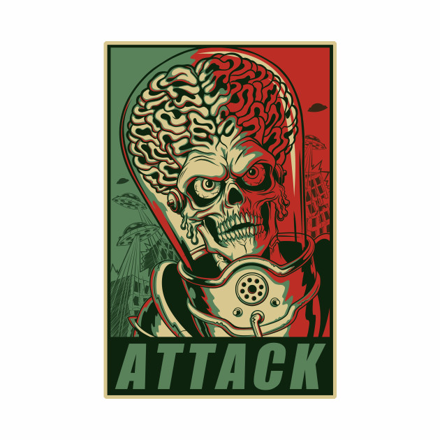 Attack! Green & Red