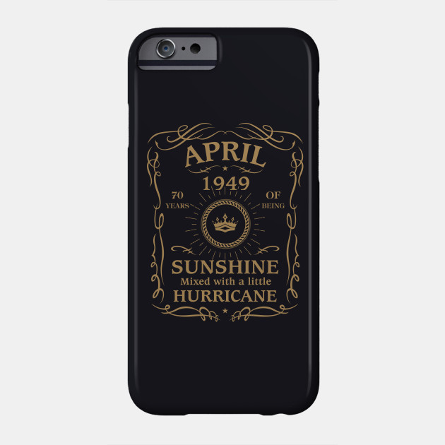 April 1949 Sunshine Mixed With A Little Hurricane Phone Case